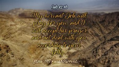job's prayer