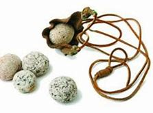 sling and stones
