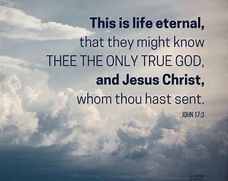 John 17.3