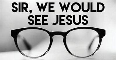 See Jesus