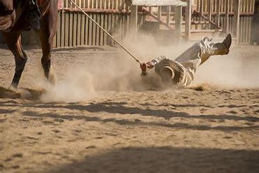 cowboy dragged